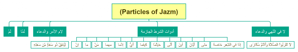 Particles of Jazm-Arabic-Grammar